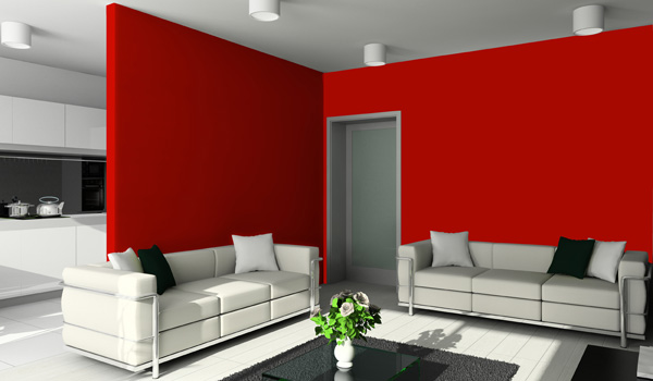 Eco ceiling india - Coloration rouge vif ...